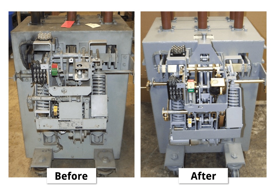refurbishing and reconditioning circuit breakers