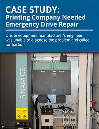 specialty paper printing emergency repair case study