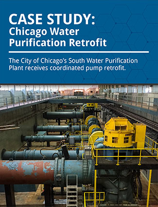 case study chicago water purification retrofit the city of chicago south water purification plant receives coordinated pump retrofit