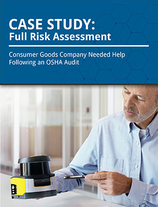 case study full risk assessment consumer goods compnay needed help following an osha audit