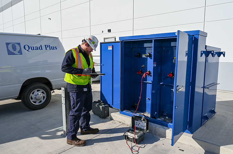power service equipment testing